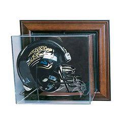 Minnesota Vikings NFL Case-Up Full Size Helmet Display Case (Cherry)