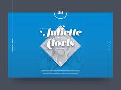 Portfolio header concept by Jakov Šuran #Design Popular #Dribbble #shots