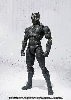 SH Figuarts Black Panther 003
