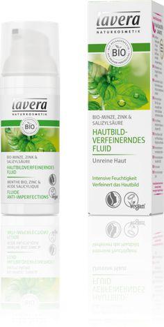 Hautbildverfeinerndes Fluid Bio-Minze | lavera Naturkosmetik