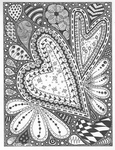 Some Doodle Inspiration Heartbeats By Zoe Ford Topfloortreasures