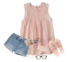 """""""It's A Dream, It's A Bit Of A Dance"""" by bowbeauty01 ❤ liked on Polyvore featuring Abercrombie & Fitch, Hollister Co., Jack Rogers, Ralph Lauren, Alex and Ani, Lilly Pulitzer, Kate Spade, Too Faced Cosmetics, Almay and bowbeautiful"""