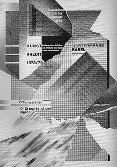 Wolfgang Weingart, interesting way of incorporating design with torned paper...