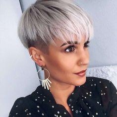 37 Best Short Haircuts For Women Update) - Short Hair Cuts For Women - Edgy Short Haircuts, Short Hair Undercut, Short Haircut Styles, Cool Short Hairstyles, Haircuts For Fine Hair, Undercut Hairstyles, Pixie Hairstyles, Layered Hairstyles, Blonde Hairstyles