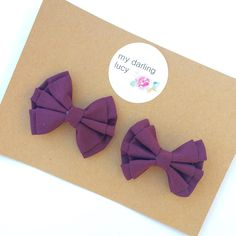 Double bows from 'my darling Lucy'