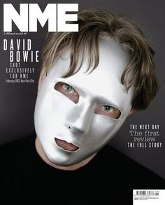 Read a great article about the new Bowie album and this NME cover on Pitchfork: http://pitchfork.com/reviews/albums/17855-david-bowie-the-next-day/