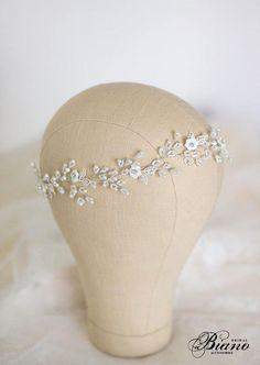 Wedding Headband Bridal Headband Pearl Headband Wedding