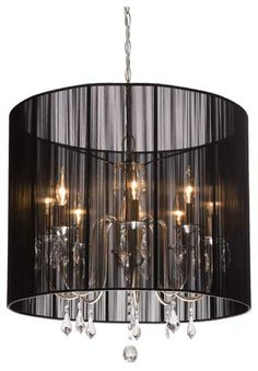 Buy the Artcraft Lighting Black Direct. Shop for the Artcraft Lighting Black Claremont Single-Tier Crystal Drum Chandelier with 8 Lights - 25 Inches Wide and save. Contemporary Lighting, Decor, Lights, Transitional Chandeliers, Home Decor, Artcraft Lighting, Chandelier, Drum Chandelier, Ceiling Lights