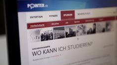 Die neue Hochschulkarte auf POINTER.de