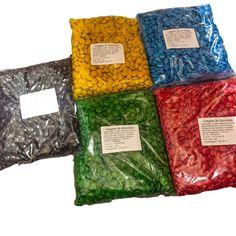 Lentejas de Chocolate tipo Rocklets x 1kg en LaGolosineria.com.ar