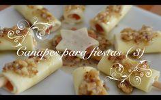 Canapes para fiestas 3 - Faciles rapidos y baratos de preparar -Chef de ...