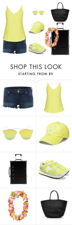 """""""SUMMER VACATIONS ♥"""" by lili333 ❤ liked on Polyvore featuring True Religion, City Chic, Polo Ralph Lauren, Globe-Trotter, Saucony and Sensi Studio"""