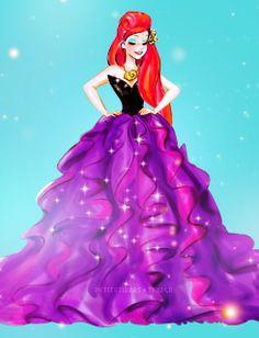 Community Post: If Disney Princesses Celebrated Halloween