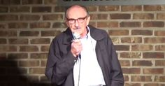 Break a hip! 89-Year-Old Man Tries Stand-up for the First Time, Crushes It