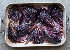 Make red cabbage shine with a bright sesame miso dressing. Red Cabbage Soup, Roasted Red Cabbage, Red Cabbage Recipes, Braised Cabbage, Cooked Cabbage, Roasted Red Peppers, Fruit Recipes, Veggie Recipes, Cooking Recipes