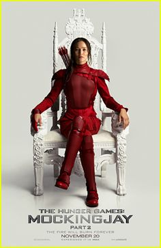 #Katniss Paints The Throne Reddish In New Poster For 'Hunger Games: Mockingjay Part 2' Poster --- More News at : http://RepinCeleb.com  #celebnews #repinceleb #CelebNews