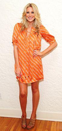 fd18b8253c73 Love the shirt and sandals- Stephanie Pratt Stephanie Pratt