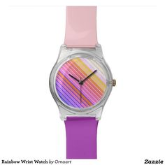 Rainbow Wrist Watch