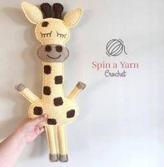 Ragdoll Giraffe, #crochet, free pattern, stuffed toy, #haken, gratis patroon (Engels), lappenpop, giraf, knuffel, speelgoed, #haakpatroon