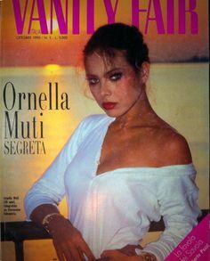 Обложка Vanity Fair с Орнеллой Мути | Журнал Vanity Fair (октябрь 1990) | Орнелла Мути (Ornella Muti)