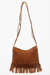 Love the fringe bag!