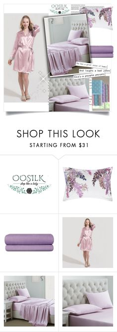 """Oosilk-bedding 14"" by azrahadzic on Polyvore featuring interior, interiors, interior design, home, home decor, interior decorating, SANDERSON and Missoni Home"