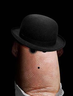 Finger Art — Celebrities Part 2