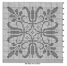 Crochet Diagram, Filet Crochet, Crochet Motif, Crochet Circles, Crochet Magazine, Tapestry Crochet, Cross Stitch Designs, Pin Cushions, Doilies