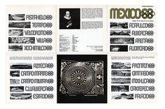 Lance Wyman, Mexico68 Olympic Games, Mexico City, Mexico, 1966