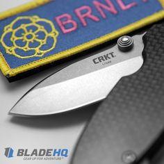The CRKT Burnley Squid - Carbon Fiber/Titanium | Blade HQ Exclusive