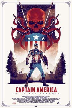 Captain America: The First Avenger Regular Edition Print by Matt Ferguson