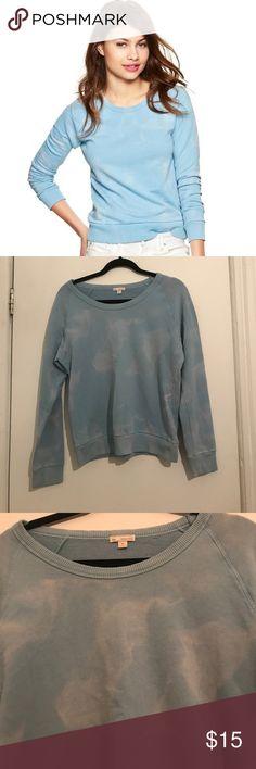 Gap Cloud Blue Sweatshirt Ever worn perfect condition crew neck sweatshirt GAP Tops Sweatshirts & Hoodies