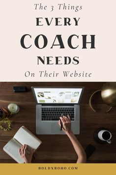These are the three things EVERY Business Coach needs on their website. Bold x Boho Website Templates are designed with a Business Coach in mind Life Coach Certification, Coach Website, Health And Wellness Coach, Instructional Coaching, Career Coach, Online Coaching, Business Entrepreneur, Web Design, Design Layouts