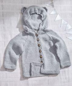 Baby Bear Knit Hoodie