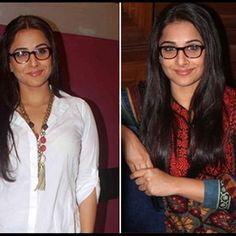 When it comes to acting, she has set phenomenal standards in Bollywood! Seen here with her trademark ethnic look is the multi-talented Vidya Balan, who looks classy in these #spectacles!  Image: http://www.biscoot.com