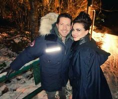 My heart is so happy. These two getting to work together is just so right. Here's hoping they won't have to say goodbye again anytime soon. #OutlawQueen #Seana