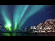 Celestial Lights    A time lapse of the aurora borealis in Tromso, Norwa...