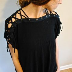 Trash To Couture: DIY. I need to learn how to sew! This girl has lots of revamped clothing how-tos.