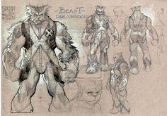 BEAST: REDESIGN DEF. VERS. by *simonebianchi on deviantART