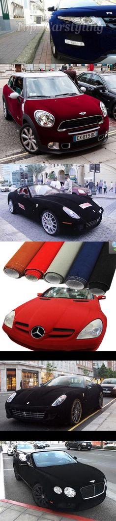 "Matte Black 12/""x60/"" Vinyl Wrap Film Car Sticker Decal w// Air Release Bubble Free"