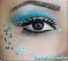 Beauty Shines From Within: ~~Halloween Themed ~ Mermaid Makeup~~
