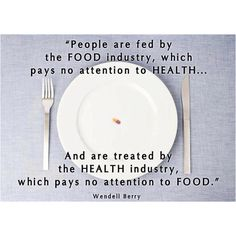 FOOD & HEALTH--True.