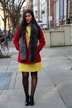 bdcebbefb82198 How fabulous does  Allison D.McT Kinghorn Jordan of Sisters In The City  look in her red   yellow   Image via www.sistersinthecity.com   fashion   style ...