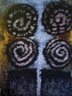 . Rugs On Carpet, Carpets, Rya Rug, Rug Hooking, Floor Rugs, Handmade Rugs, Fiber Art, Weaving, Yard
