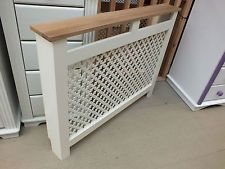 HAMPSHIRE 3' PAINTED RADIATOR COVER SOLID PINE SOLID OAK HAND MADE VARIOUS SIZES