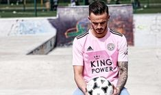 Former Premier League champions Leicester City Football Club launched two away kits from technical partner adidas on Friday. Adidas Three Stripes, Pink Adidas, Black Adidas, Leicester City Football, Leicester City Fc, James Maddison, World Soccer Shop, Arsenal Players, Adidas Design