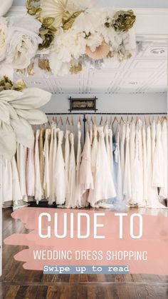 Guide to wedding dre
