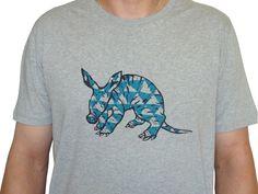 T-Shirts - Erdferkel, Bio Fairtrade T-Shirt Männer - ein Designerstück von cherry_bomb bei DaWanda