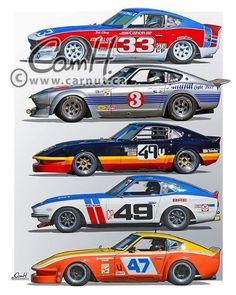 #datsun #240z #racecar #racing #historic #lovethem #classic #carsofinstagram #racecarsofinstagram #drivetastefully #racetastefully #gentlemanracer #lifestyleofperformance Datsun 240z, Datsun Car, Classic Japanese Cars, Japanese Sports Cars, Classic Cars, Nissan Z Cars, Jdm Cars, Le Mans, Racing Car Design