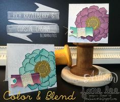 Stampin' Up! floral cards using the Blendabilities